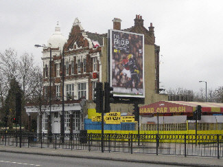 The Thomas a Becket pub site, Old Kent Road 2008